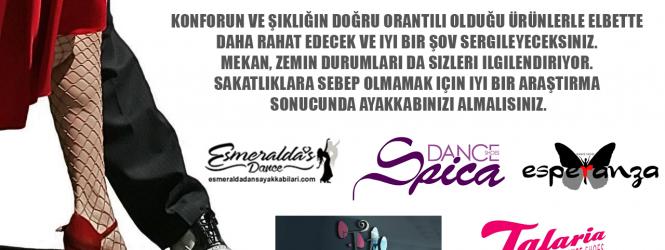 """SİZİN İÇİN SEÇTİĞİMİZ """"DANS AYAKKABISI"""" MARKALARI VE HAKKINDA"""