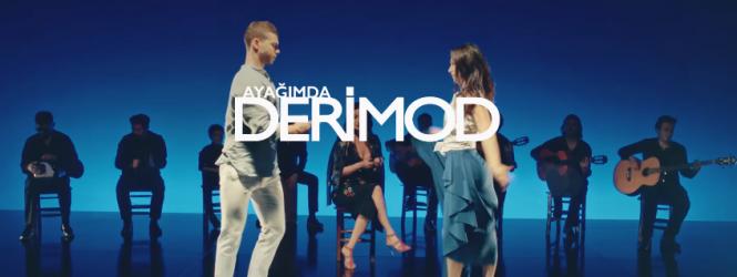 DERİMOD 2017 Reklamında Türkiye Şampiyonları Cem ve Melisa' yı seçti.
